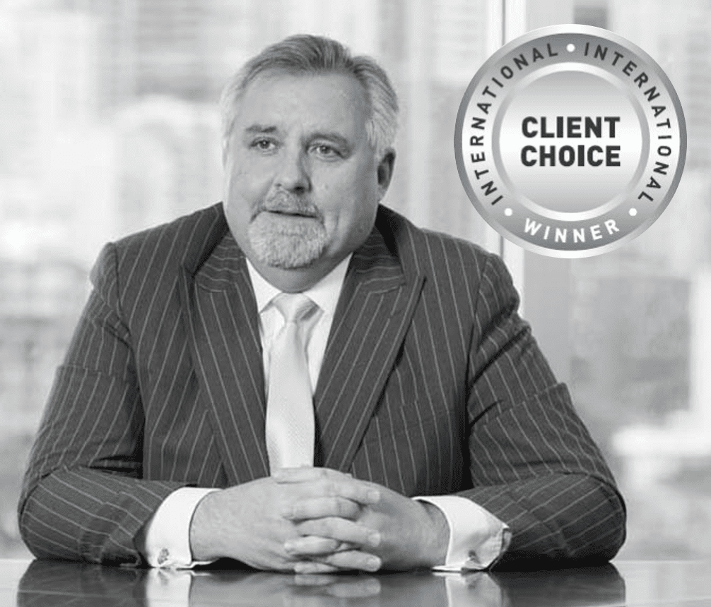 Client Choice Award winner Ian De Witt