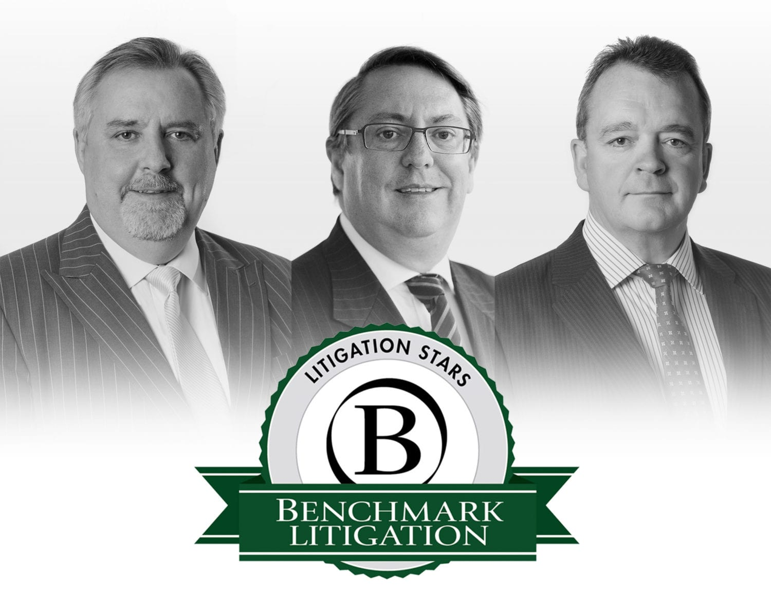 Benchmark Litigation Dispute Resolution Stars: Ian De Witt, Robin Darton and Jeff Lane